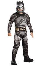 Kids Boys Childs Deluxe Batman Armour Fancy Dress Costume Hallween Book Week