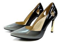 John Garfield Elegante Damen Abendschuhe Spitze Pumps High Heels Gr.36-41 Black