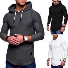 MT Styles Hoodie Henley Pullover Oversize Kapuzenpullover Schwarz/Khaki/Weiß NEU