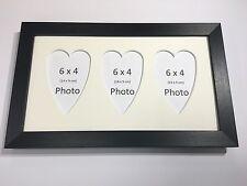 Multi Aplicación Foto Marco Blanco-contiene 3 X 6/'/'X4/'/' elija entre 4 Colores de montaje