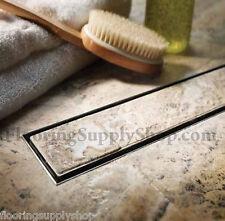 QuARTz by Aco Linear Shower Drain Tile Insert Grate