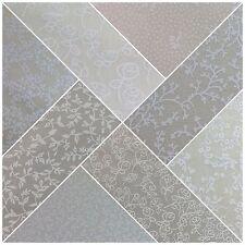 Crema Floreale 100% Cotton Popeline con stampa tessuto artigianale 114cm M734