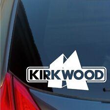 Kirkwood vinyl sticker decal rare earth snow ski lift jump skiing snowboarding