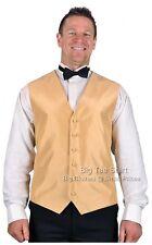 Big Mens Straw L.A Formal Waistcoat Size 2xl 3xl 4xl