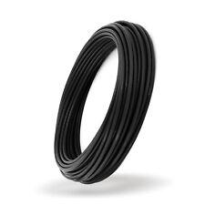 Negro CUERDA DE ALAMBRE RECUBIERTO DE PVC Cable de plastico acero galvanizado