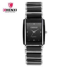 CHENXI Women Quartz Watch Rhinestone Design Fashion Top Quality Men Gift Watches