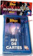 Jeu de 32 cartes BATMAN DC comics PANINI en 2009 joker figure card game NEUF