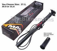 TMARS 419S 27.2 / 30.9 / 31.6mm  x 445mm Dropper Alloy Seatpost w/ Remote Bike