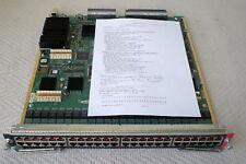 Cisco WS-X6748-GE-TX Catalyst 6500 48 Port 10/100/1000 mit Funktionsprotokoll