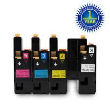 4 Color Toner Set For Dell 1250 C1760NW C1765NF C1765NFW 1250C 1350cnw 1355cnw