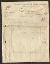 """PARIS (XIX°) USINE de CHAUSSURES DE LUXE pour DAME Lyse / MODE """"Ed. ROMAND"""" 1928"""