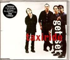 TAXIRIDE Get Set 3 TRACK CD ep W 2 rare trx daniel hall