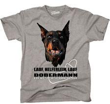 TWILDA T-Shirt Hund LAUF HELFERLEIN LAUF Dobermann Dobi fun WILSIGNS Siviwonder