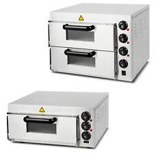 Vertes four à pizza electrique professionnel à 1 ou 2 etages chambres de cuisson