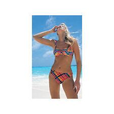 Panache Multi Seersucker High Leg Bikini Brief SW0141