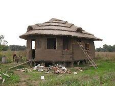 Shelter Housing Earth Homes CD 30 Books Construction Primitive Mud Bricks Adobe