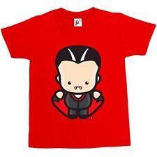 Bébé Vampire Comte Dracula avec crocs Enfants Garçons/Filles T-Shirt