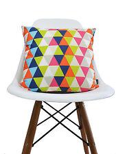 Harlequin retro vintage kids geometric fabric Cushion Cover - Kaleidoscope Multi