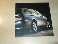 25532) Alfa Romeo 156 SW Polen Prospekt 2002