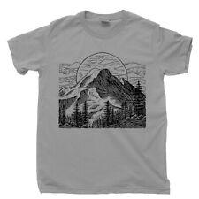 Camping T Shirt Equipment Gear Tent Chair Mountain Hiking Appalachian Trail Tee