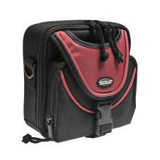 NEW AB-003RD RED AMVONA PRO SLR DIGITAL CAMERA BAG / TOTE CASE & SHOULDER STRAP