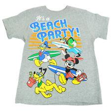 Officiel Disney Jeune Enfants Plage Soirée Garçons Col Rond Vacances T-Shirt