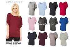 Bella + Canvas - Ladies' Flowy Draped Sleeve Dolman T-Shirt - 8821