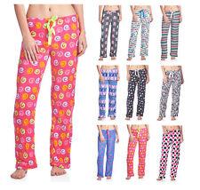 Casual Nights Women's Plush Microfleece Pajama Lounge Pants