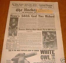hockey news  nov 2 1963 vol 17 # 5   gordie howe