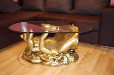 Couchtisch Handtisch Wohnzimmertisch Luxustisch Designertisch Ovaler Tisch NEU