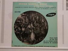 PEWER KOROLL BREIZ Sonneurs KORNOG KELTIECK PARIS Polka piquée.. EPL 7190