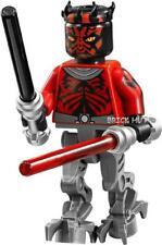 LEGO STAR WARS - DARTH MAUL MECHANICAL LEGS FIGURE + GIFT - 75022 - 2013 - NEW