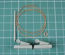 VALENTINE I/II/IV/VI TANK TOW CABLES & QF 2 PDR MK IX BARREL #3544 1/35 EUREKA