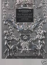 Sotheby's English Continental Silver NY Oct 28 1992