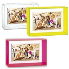 NEON Acrylrahmen 10x15 cm in gelb, pink oder klar