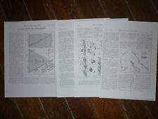 3- LES ASCENSIONS PAR CERFS-VOLANTS par LEMONON 1931 ARTICLE PHOTOCOPIE KITE
