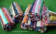 Indian Cotton Handmade Chind Dari Garden Decor Hand Woven Vintage-Carpet-Rugs