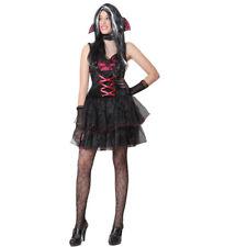 VESTITO COSTUME Maschera di CARNEVALE / HALLOWEEN Adulti DRACULARIA VAMPIRIA