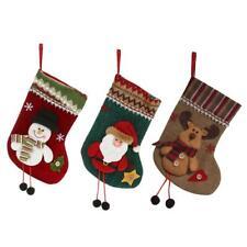 Christmas Stocking Candy Bags Xmas Socks Gift Bags Christmas Party Decor #Cu3