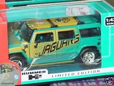 2004 NFL Die Cast Hummer H2, Jacksonville Jaguars, NEW