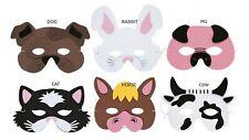 Foam Mask Farm Animal Masks Farm Fancy Dress Party Loot Bags