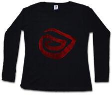 True SPIRAL da Donna Manica lunga T-shirt Detective Leonard simbolo sign logo Cohen