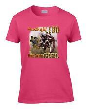 Ladies As A Matter of Fact I Do Ride Like Girl Dirt Bike Racing Women's T-Shirt