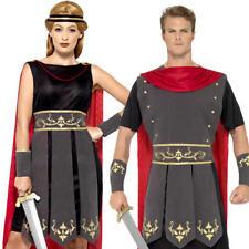 Roman Soldier Gladiator Adult Fancy Dress Ancient Greek Rome Warrior Costume New