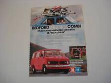 advertising Pubblicità 1978 BEDFORD CF DIESEL COMBI