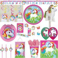 ARCOBALENO UNICORNO festa di compleanno bambini Set decorazione a tema cavallo
