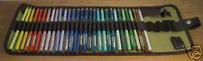 Derwent Artist Pencils 30 Colours & Pencil Wrap
