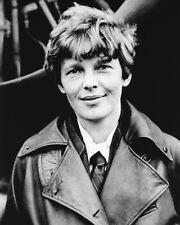 Woman Aviator AMELIA EARHART Glossy 8x10 Photo Reprint Poster Portrait