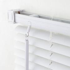 PVC Jalousie Lamellen Rollo Kunststoff Jalousette Tür Kunststoffjalousie Weiß