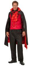 3 tlg Herren Dracula Vampir Kostüm Horror Lord Dark Halloween Karneval neu